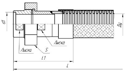 К80. МРВД с арматурой «Резьбовое соединение под приварку с плоским уплотнением»
