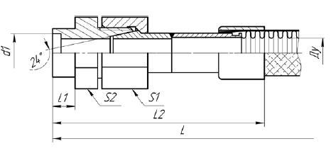 К81. МРВД с арматурой «Резьбовое соединение под приварку с коническим уплотнением»
