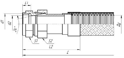 К82. МРВД с арматурой «Соединение с адаптером с внутренней резьбой