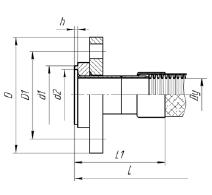 МРВД с арматурой Фланцевое соединение