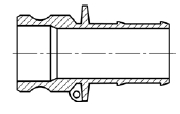 Штуцер БА31 (тип E)