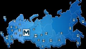 География поставок Металлорукавов